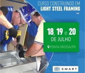 Construindo em Light Steel Framing<h6>18 à 20/07 &#8211; Clique aqui e faça sua matrícula</h6>