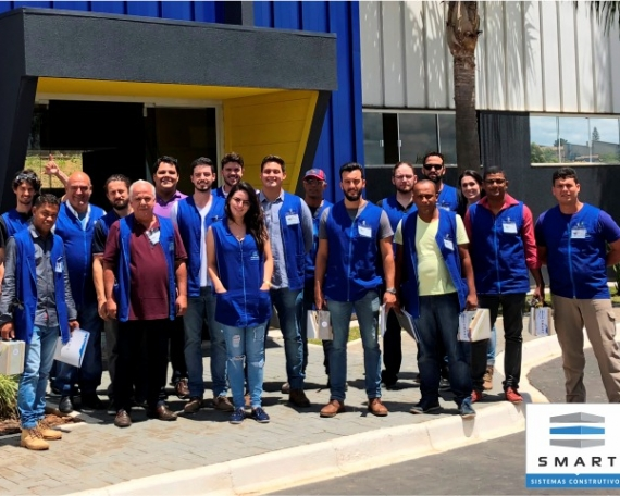 70º Curso Construindo em Light Steel Framing.