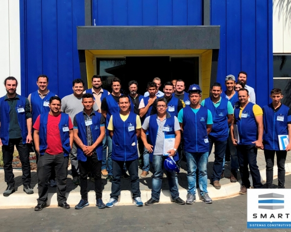 72º Curso Construindo em Light Steel Framing.